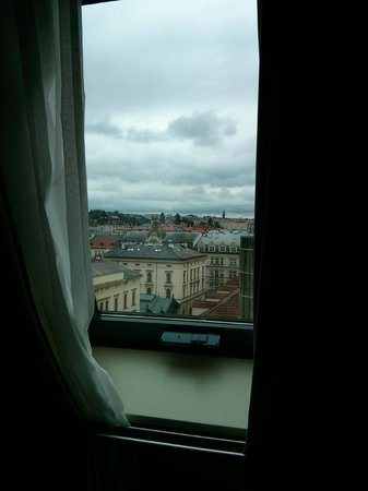 Hilton Prague Old Town: View from room