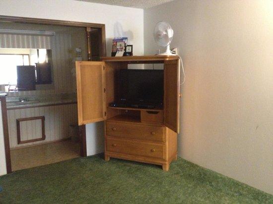 Watonga Motel: Impressed with the room