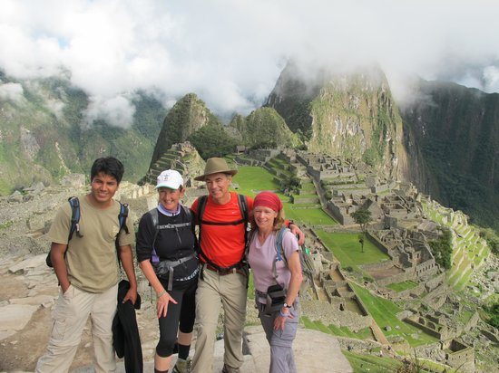 Quechuas Expeditions - Day Tours: Machu Picchu in early morning mist