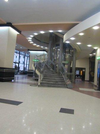 Gromada Hotel: la hall dell'hotel
