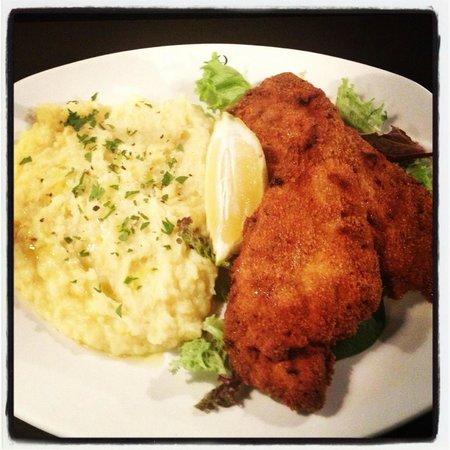 Luigi Zuckermann: Israeli Style Schnitzel (Chicken)