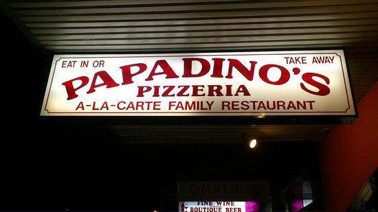 Papadino's Katoomba Pizzeria and Family Restaurant: Papadino's