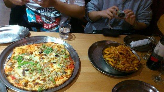 Papadino's Katoomba Pizzeria and Family Restaurant: Food