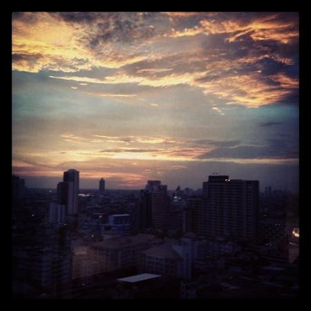 Le Meridien Bangkok: room with a view