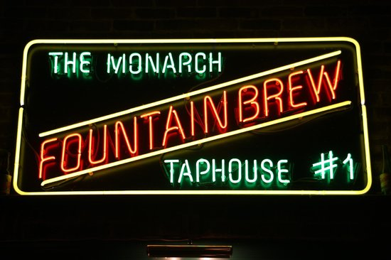 The Monarch Public House: Monarch Public House - Home of Fountain Brew Beer