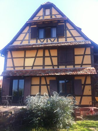 L'accroche Coeur - bed and breakfast : the house