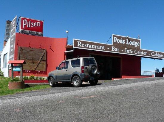 Poas Lodge and Restaurant: l'extérieur
