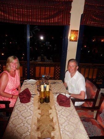 Bella Vista Italian Restaurant: 3rd Wedding Anniversary meal