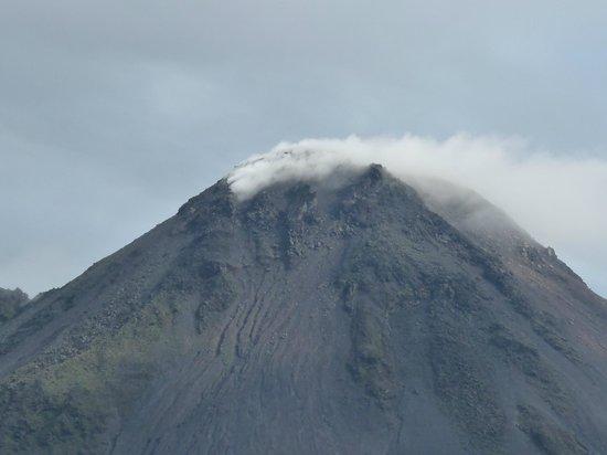 هوتل كامبو فيردي: le sommet du volcan et ses fumerolles