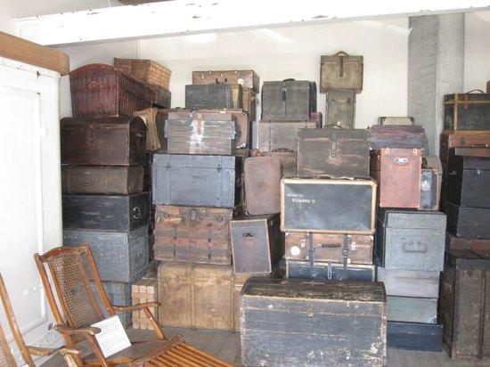 Deutsches Auswandererhaus: luggage