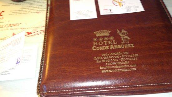 Conde Ansurez: hotel