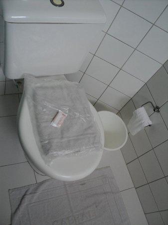 Hotel Carinhoso: Banheiro
