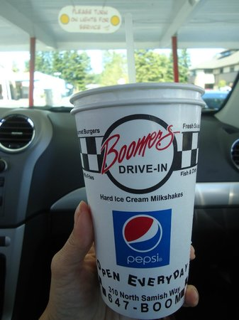 Boomer's Drive In: Oh yeah...