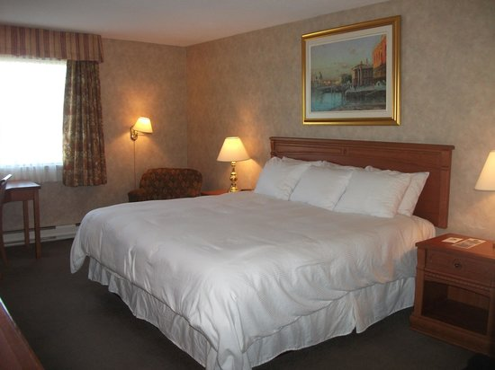 Hotel Universel Montreal : Chambre supérieure