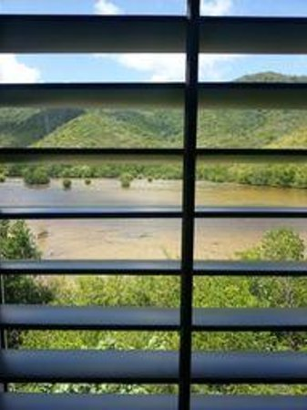 Carlisle Bay Antigua: Rainforest view from Ocean Suite