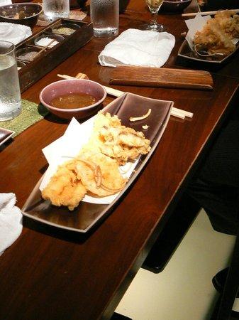 Shinjuku Tsunahachi Takashimaya ten: plat de tempura au Tsunahachi