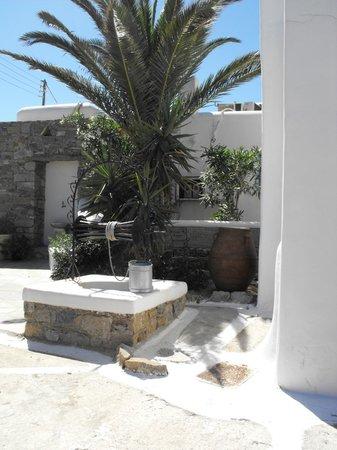 The A Hotel by Mykonos Arhontiko: giardino