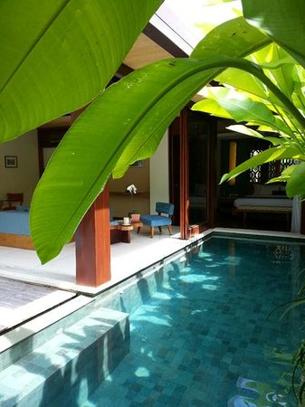 Maca Villas & Spa: Villa 12 - Blick in die Villa