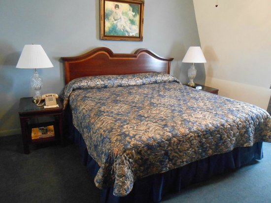 Le Richelieu in the French Quarter: bedroom