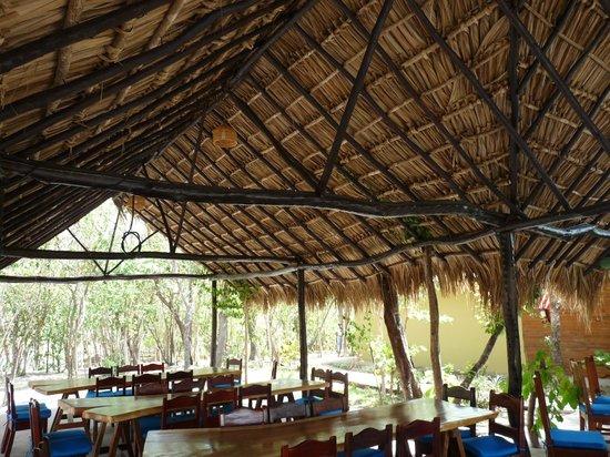 كانون دو لا فيجا لودج: une partie du restaurant