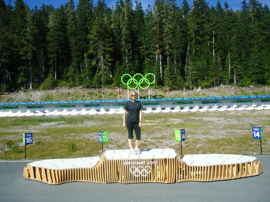 Whistler Olympic Park: 1st Place!