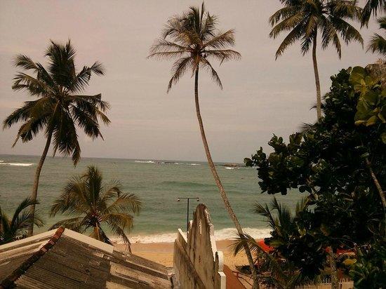 Unawatuna Beach Bungalow Hotel: view