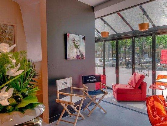 Hotel Le Canal: Lobby