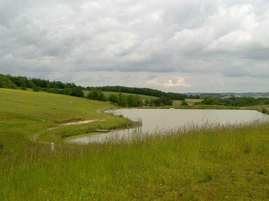 Domaine d'Escapa: le lac