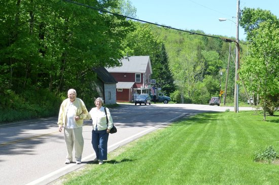 Chipman Inn: About half of the hamlet of Ripton, VT