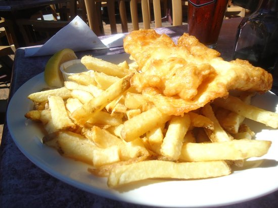 Wigan Pier: Halibut Fish & Chips