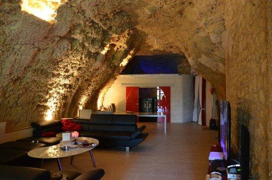 Le Clos de L'Hermitage : La salle de petit déjeuner