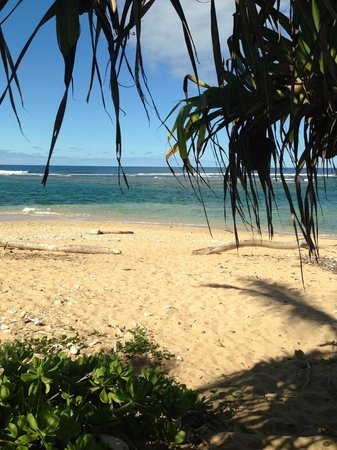 Hale Makai Cottages: The Beach