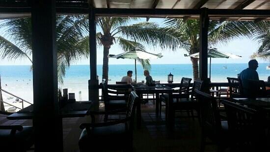 Breakfast at Banana Fan Sea Resort