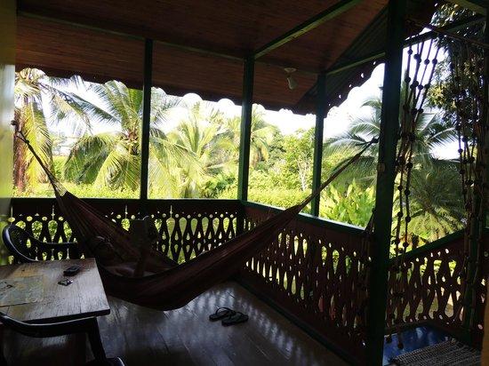 Casa Verde Lodge: Habitación con baño incluido