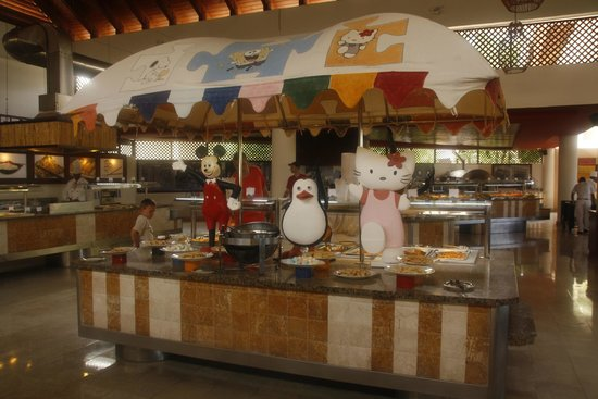 Dreams Palm Beach Punta Cana: buffet