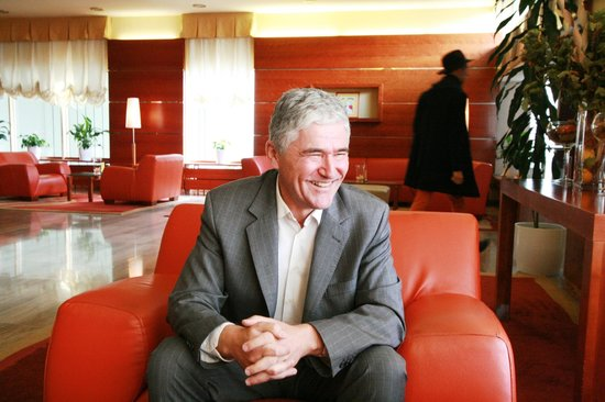 Hotel Laguna: Coffee and a chat with Mandaric, Hotel Sales & Marketing Head