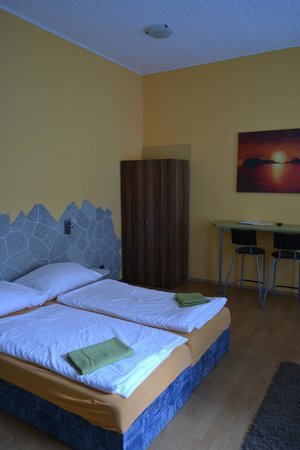 Derivia Penzion: Bed