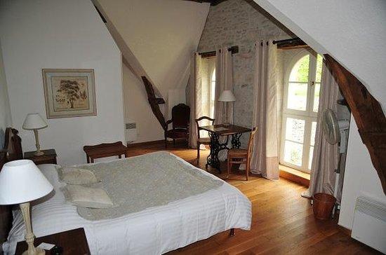 Domaine de La Rhue: Unser Zimmer