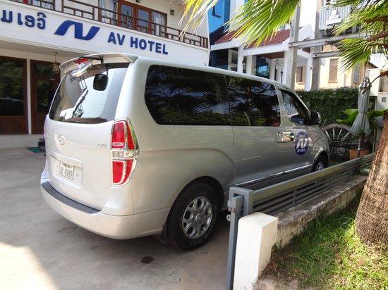 AV Hotel: shuttle