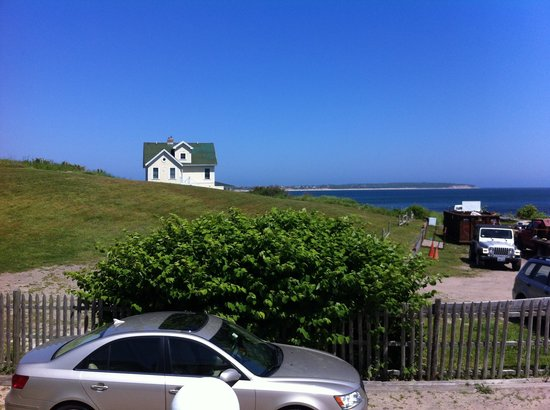 Blue Dory Inn : View from porch