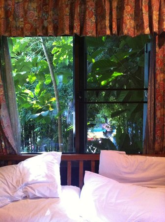Santitham Guest House: view from the room