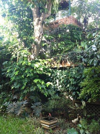 Santitham Guest House: garden