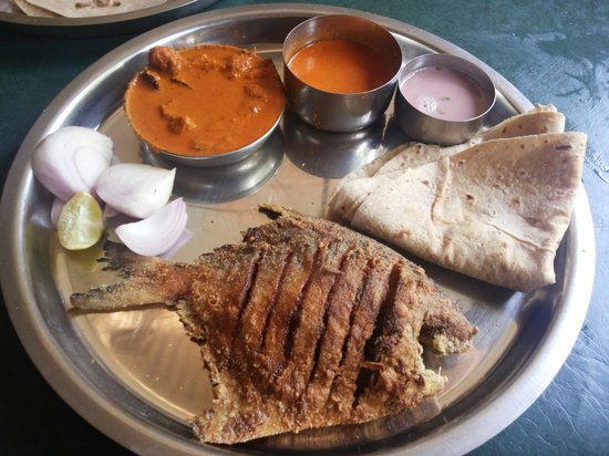 Chicken thali picture of athithi bamboo malvan for Atithi indian cuisine