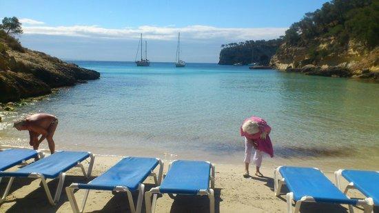 Playa Nudista El Mago: The view on El Mago