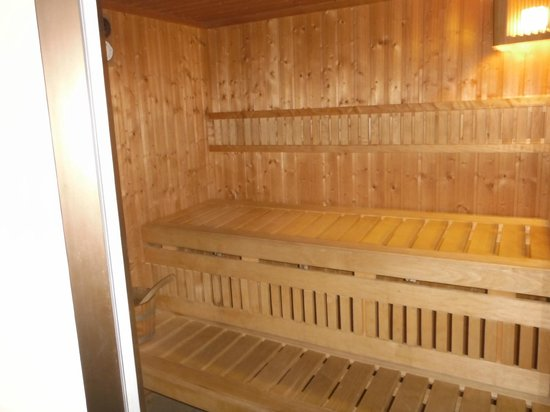 Best Western Hotel L'Oree: Sauna
