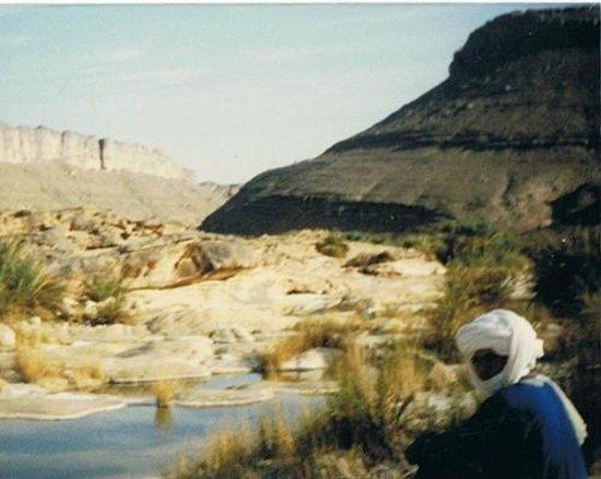 Tassili n'Ajjer : Wasser gibt es doch auch