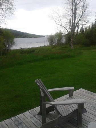 Broadwater Inn: View from deck
