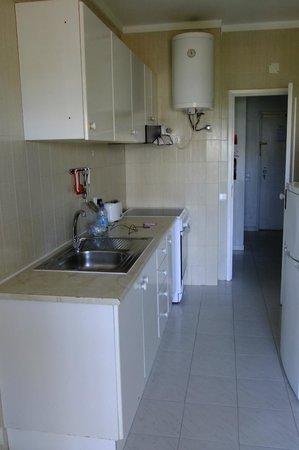 Apartamentos Carteia: kitchen