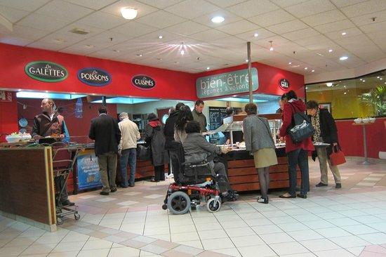 Hot food station picture of flunch bordeaux le lac - Auchan bordeaux lac ...