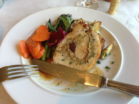 Cafe Esperance: Porchetta with Roasted Vegies